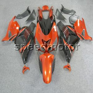 23colors + Gifts Spritzgussform orange schwarz Motorradverkleidung für Kawasaki ZX14R 2006 2007 2008 2009 2010 2011 ZX-14R ABS Plastik Kit