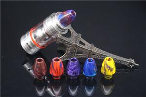 vape rba réservoir résine 510 sphérique anti-déflagrant huile balle goutte à goutte pointe e-cigarette atomiseur 510 résine goutte à goutte buse coloré