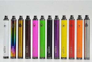 Vision Spinner 2 batteries de e-cigarettes eGo Tension réglable Twist batterie 3.3 ~ 4.8V Spinner II 510 fil gratuit DHL