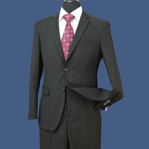 IN AZIONE smoking dello sposo Groomsmen laterale Vent Best Man vestito per abiti formali matrimoni Uomo sposo di usura dello sposo (Jacket + Pants) ST004