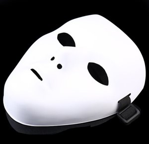JabbaWockeeZ маска Маска Halloween Party Маска Хэллоуин хип-хоп призрак танец ПВХ чистый белый маскарад партии маски