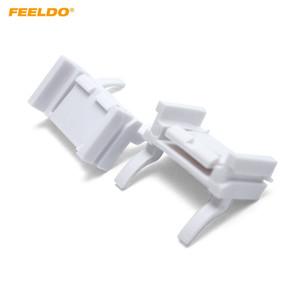 FEELDO 2x Coche H7 HID Xenon Bombillas de instalación de baja Adaptador de enchufe para Ford Focus (2008-2011) # 1340