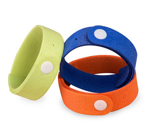 Mosquito Repellent Bracelet 100% All Natural Plant-Based Oil, Non-Toxic Travel Insect Repellent, Safe Deet-Free Band for Baby and Adult
