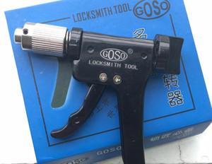Die ursprüngliche GOSO Schnellpickpistole Drehwerkzeug Schlosserwerkzeug Dino Gun Plug Spinner heißer Verkauf