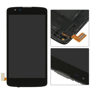 5.0 pollici per LG K8 LTE K350N K350E Display LCD K350DS + Touch Screen Digitizer cornice cornice Assembly