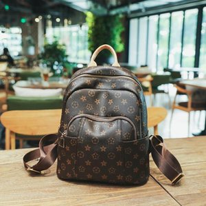 Cowhide Genuine leather Backpack Leisure backpack lady bag travel bag Small big capacity Handbag Woman bag Backpack Style Fashion Bags DSW01