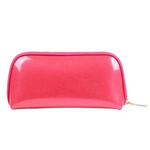 fashion portable storage large capacity wash women pu cosmetic bag
