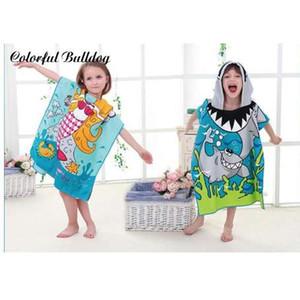 Личность прекрасный мультфильм детское полотенце носить ткань из микрофибры мальчик девочка пляж животных шаблон мягкая сумка юбка домашний текстиль