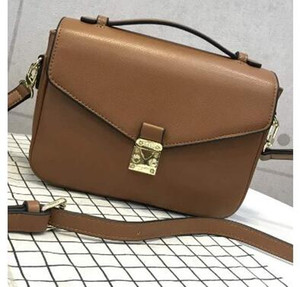 2017 Ücretsiz kargo yüksek kalite kadınlar Messenger çanta deri kadın çanta pochette Metis omuz çantaları crossbody çanta M40780