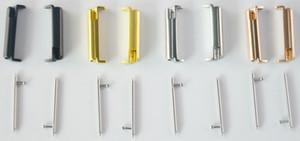 도매 팔찌 스테인레스 스틸 밴드 스트랩 어댑터 커넥터를 들어 핏 비트 반대로 시계 Epacket 배송 3 색