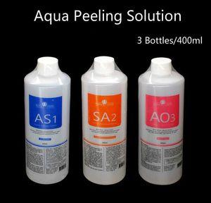 Professional hydra facial machine use Aqua peeling solution 400ml per bottle aqua facial serum hydra facial serum for normal skin