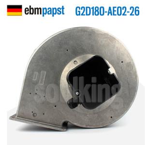 Toptan Almanca (ebm-papst G2D180-AE02-26 400V 420W) (ebm-papst D4E225-BC01-02 230V 3.05A) (ebm-papst 4112N 12038 12V 4.9W) soğutma fanı