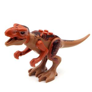 쥬라기 공룡 세계 쥬라기 세계 8pcs 피규어 Tyrannosaurs 렉스 빌딩 블록 Legoing 공룡 장난감과 호환 가능