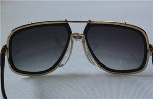 Moda 656 2018 preto com óculos de sol cinza gradiente original Utgow