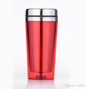 Bouilloire en acier inoxydable externe Easy Carry petite bouteille d'eau préservation de la chaleur Auto Cup avec mélange couleur abrasive intérieure vésicule biliaire 7bp cc