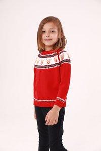 À manches longues Enfants Garçons Filles De Noël Cerf Kintting Pull Pour Bébé Filles Garçons 2018 Nouveau Dessin Animé Cachemire Tops Vêtements Pulls