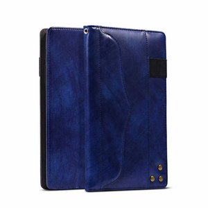 Retro Vintage PU Leather Wallet Stand Case For Samsung Galaxy Tab A 8.0 T385 T380 Tab A 10.1 T580 T585