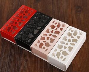 Macaron красивый пакет многоцелевой полые короткий пункт Macaron box Главная выпечки бутик упаковочная коробка