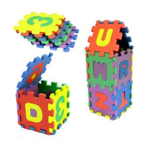 Горячие продажи новый 36 шт. детские игры pad номер алфавит головоломки пены пол играть коврики игрушки для детей Дети математика образовательные игрушки подарок #5
