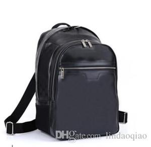 GRATIS MICHAEL N58024 Calidad 100% Mochilas de cuero Michael Man's Bag Shopping Mastery Lienzo Grafito Damier Mochila genuina 45 * 26 * 17C HHLJ