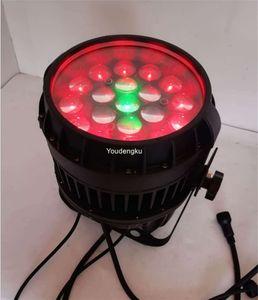 2PCS 19x10w RGBW 4 in1 وDMX LED PAR في الهواء الطلق مقاوم للماء LED ZOOM الاسمية ضوء المرحلة IP 65 LED PAR التكبير الضوء