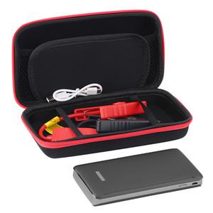 1PC 8000mAh 자동차 점프 스타터 팩 부스터 LED 충전기 배터리 전원 은행 실버 자동차 비상 전원