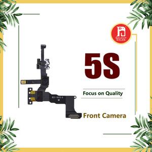 Front kleine kamera für iphone 5s facetime gegenüberstellung näherungssensor licht motion flex kabel ersatz cam teile für iphone 5 s