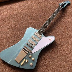 Custom Shop Firebird guitarra elétrica com Long Verson Maestro Vibrola, Ebony gitaar fingerboard, Firebird guitarra