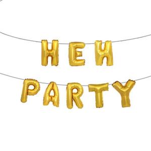 Mode Veranstaltungsort Dekoration Folie Ballon Rose Gold Hen Party Aluminium Film Luftballons Anzug Mädchen Ereignis Parteien Liefert 4 5hy ii