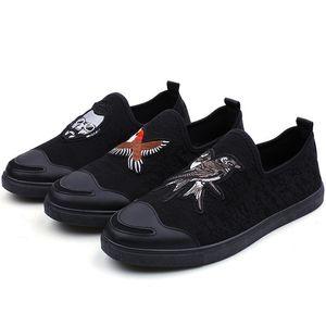 Мужчины Модные Вышивка Мокасины Платье Обувь Италия Мужской Homecoming Пром Партия Театрализованное Свадебная Обувь Мокасины Скольжения На Ленивый Вождения Обувь Q-252