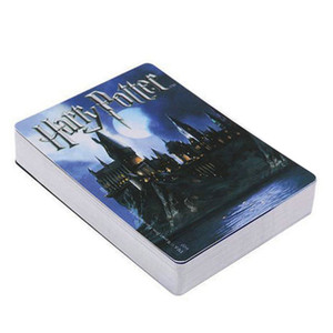 Movie Cards Harry Potter Playing Game Cards Hogwarts House Collection Badges Symbols Castle Crests 2 Patterns Fun Kid Toy Gift SC140