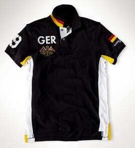Hommes Casual Polos Coton Mode GER / Norvège / SUI / Espagne / Russie / Nouvelle-Zélande / GBR / ITA / BR / Australie / États-Unis / Mexique / Emirats Arabes Unis Polos
