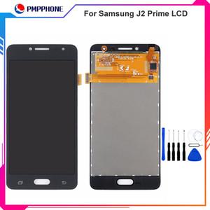 Pantalla LCD retroiluminada ajustable para Samsung Galaxy J2 Prime G532 G532F SM-G532 con pantalla táctil digitalizador Sensor + pantalla LCD