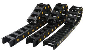 Işık Towline18 * 25/25 * 38/25 * 57/35 * 75/45 * 100 Naylon Köprü tipi sürükle zinciri için CNC Router tel parçaları