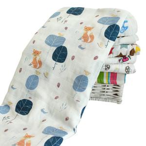 120x120cm Baby Boy Girl Blankets Recién nacido Cartoon Baby Carrier Swaddle Wrap Blanket Cotton Winter Warm Kids Infant Baby Towel