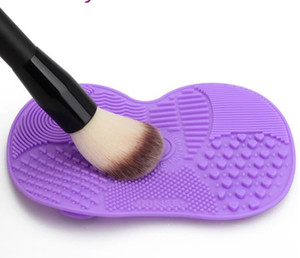 Silicone Brush Cleaner Mat Washing Tools for Cosmetic Make up Eyebrow Brushes Cleaning Pad Scrubber Board Makeup Cleaner