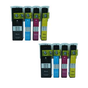8PK Mürekkep Kartuşu Için Uyumlu Lexmark 100xl 105xl 108xl Etkileşim S605 Darbe S301 S305 Interpret S405 Sezgi S505 Pro709 S302 S405