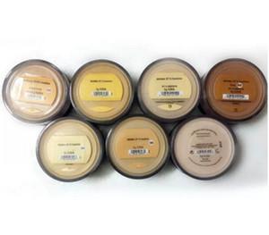 Vendita calda 8g minerali Fondotinta Medio / Leggero / Giusto / Tan / Abbastanza Leggero / Medio Beige / Minerale Vail / Caldo nave libera