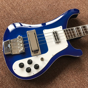 Vicers Wholesale - 4 سلاسل bass 4003 blue electric bassguitar silverhardware China Guitar HOT SALE