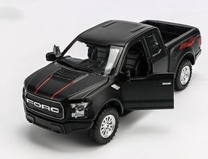 Modellino auto giocattolo, Ford Raptor F150 Pickup Truck, alta simulazione con luce suono, per i regali di compleanno del capretto del partito, raccolta, Decorazione