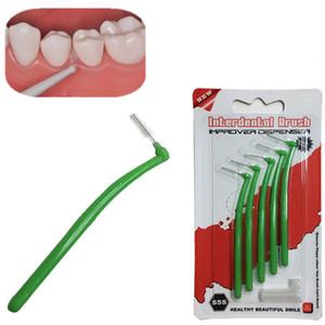 5 Pcs Tooth Floss Oral Hygiene Soie Dentaire Doux En Plastique Brosse Interdentaire Dents De Nettoyage Oral Care Outil Pour Hommes Femmes H7JP
