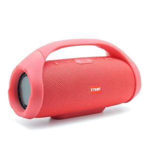 Mini Boom Kutusu Açık HIFI Bas Sütun Hoparlör Kablosuz Bluetooth Hoparlör Boombox Bluetooth Kablosuz Hoparlör Stereo Ses ücretsiz DHL