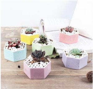 Venda quente de Cerâmica Bonsai Pots Mini Multicolor Vasos de Flores Para Casa Suculentas Planters Jardim Fontes Do Quarto Decoração Do Escritório