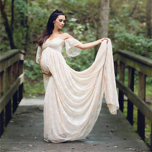Vestidos de maternidad embarazada Mama Women's Maternity Embarazo Easy Breastfeeding Circle Jersey La lactancia Halagador Summer maternity dress
