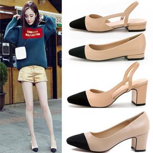 nu + cor preta sensuais novas confortáveis salto médio planas mulheres calcanhar nu fina calcanhar casamento sapatos de senhora