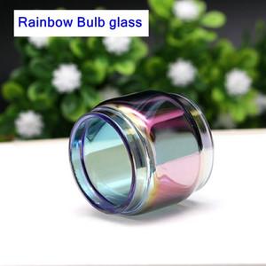 Per Smok TFV12 principe sostituzione arcobaleno bolla tubo di vetro estesa ecig vape blub serbatoio di vetro per tfv12 principe spedizione gratuita