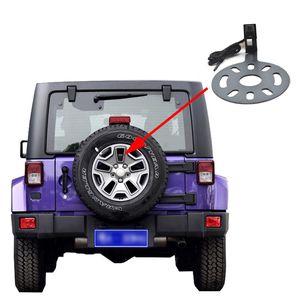 Vardsafe VS622 | Opinião traseira do carro Câmara de marcha Backup para Jeep Wrangler (2007-2018) | RCA Connector
