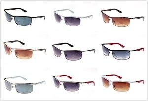 Drop full frame per la guida all'ingrosso e la bicicletta Rettangolo di moda Donne di moda Designer di marca con occhiali da sole e custodia da sole Box Uomo SH HXC