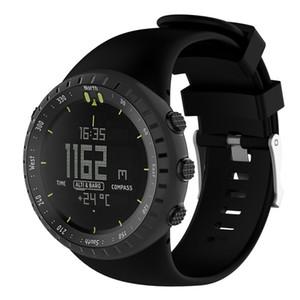 Susenstone 2017 pulseira de silicone pulseira de relógio Para Suunto Core saat kordonu silikon correa reloj venda quente
