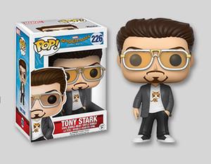 Funko POP Örümcek-Adam Homecoming Tony Stark Vinil Action Figure Kutu Oyuncak Hediye ile Bebek çocuklar için sıcak satmak